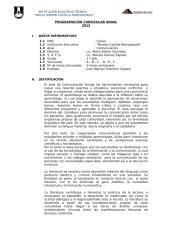 programación curricular anual - primero de secundaria 2012 castilla.docx