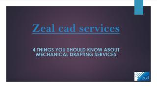 Things you should know about mechanical drafting service.pdf