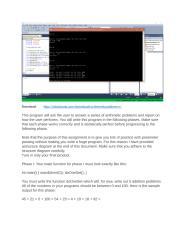Download ArithmeticProblems C++.docx