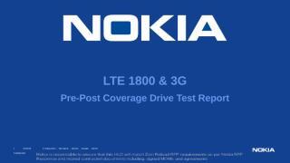 CA Pre-Post_Coverage_Report_3G & 4G.pptx