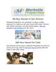 We Buy Houses In San Antonio doucument.docx