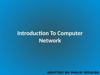 Introduction To Computer Networks (3).pptx