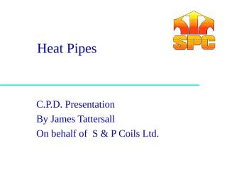 Heat Pipes.PPT