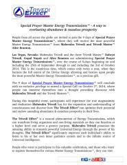 Special Prayer Master Energy Transmissions™ - A way to everlasting abundance & ceaseless prosperity.pdf