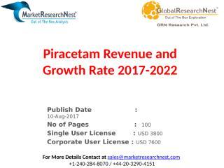 Piracetam Revenue and Growth Rate 2017-2022.pptx