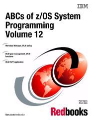 ABCs of zOS System Programming Volume 12.pdf
