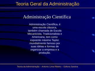 administração cientifica-especial.ppt