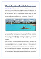 What you should know about Wesley Chapel Lagoon.pdf