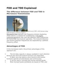 FDD and TDD Explained.docx