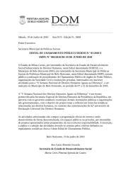 Edital republicado - DOM.doc