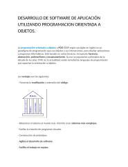 DESARROLLO DE SOFTWARE DE APLICACIÓN UTILIZANDO PROGRAMACION ORIENTADA A OBJETOS.docx